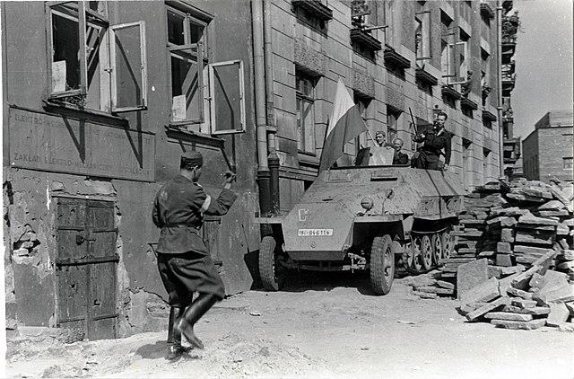 освобождение варшавы советскими войсками