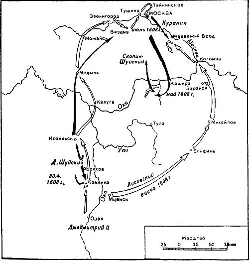 формирование тушинского лагеря