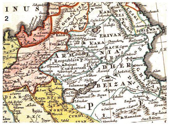 карта армении до 1915 года