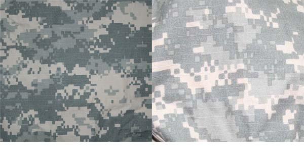 военная расцветка