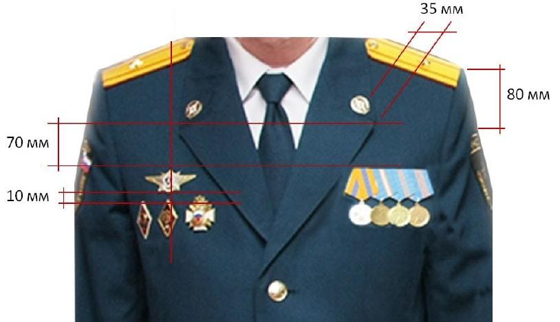 погоны младшего сержанта расстояние