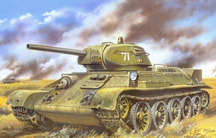 танк т 34 76