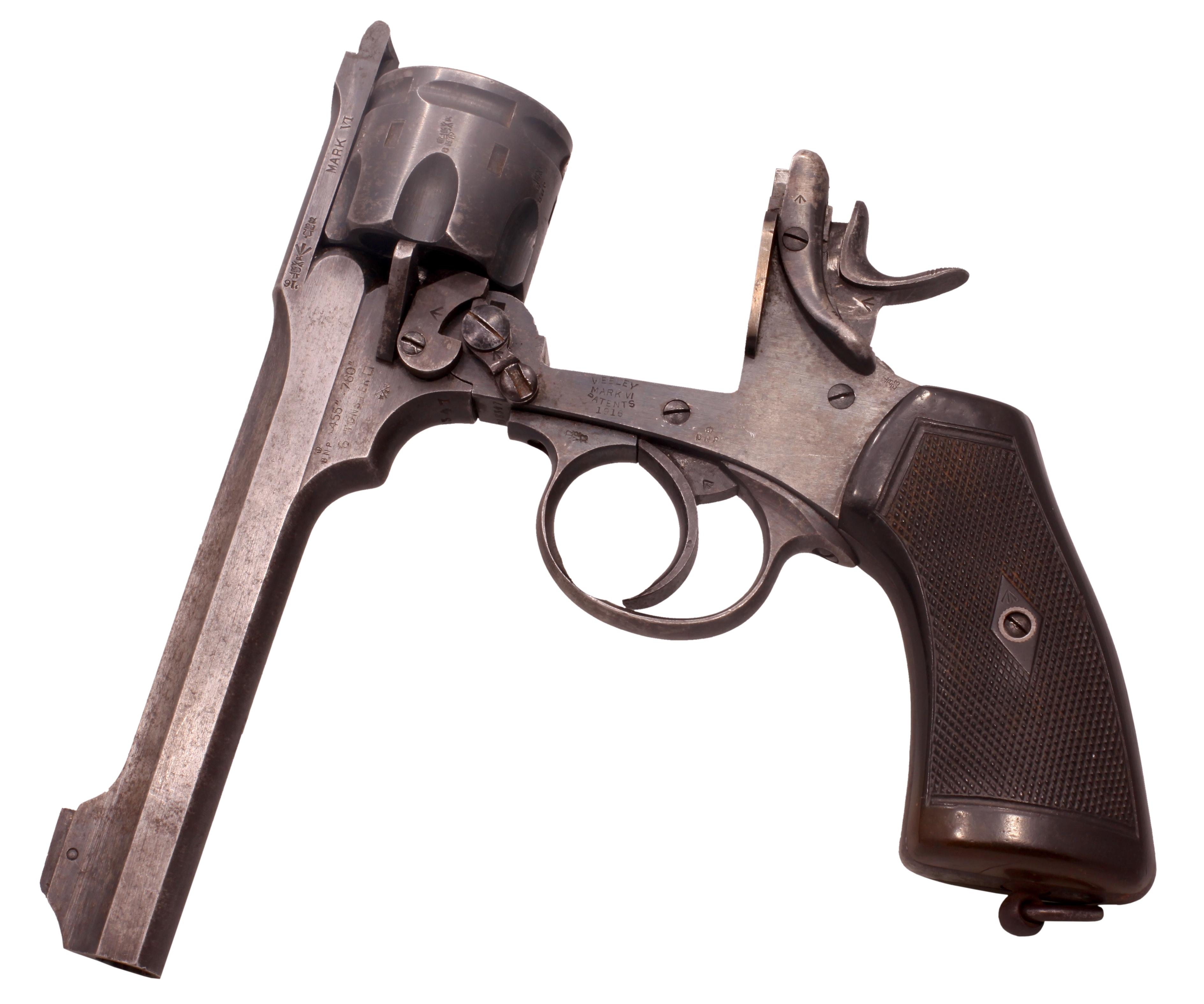 револьвер уэбли