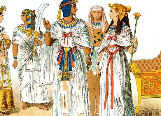 как одевались вельможи в древнем египте