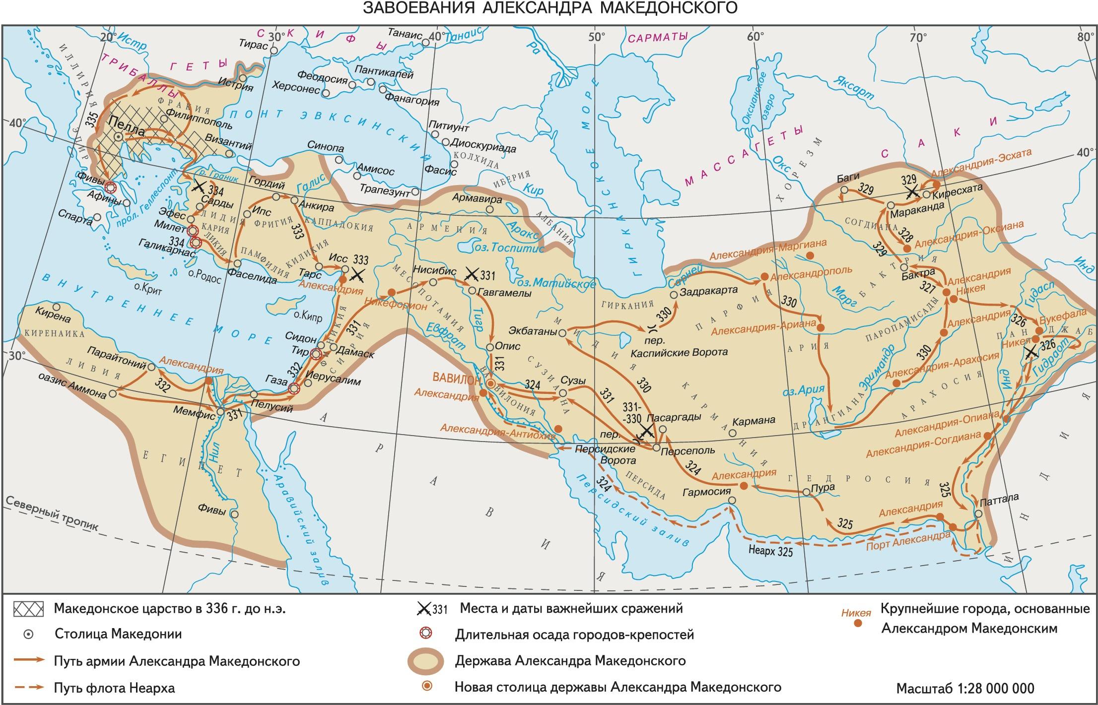 сообщение про александра македонского