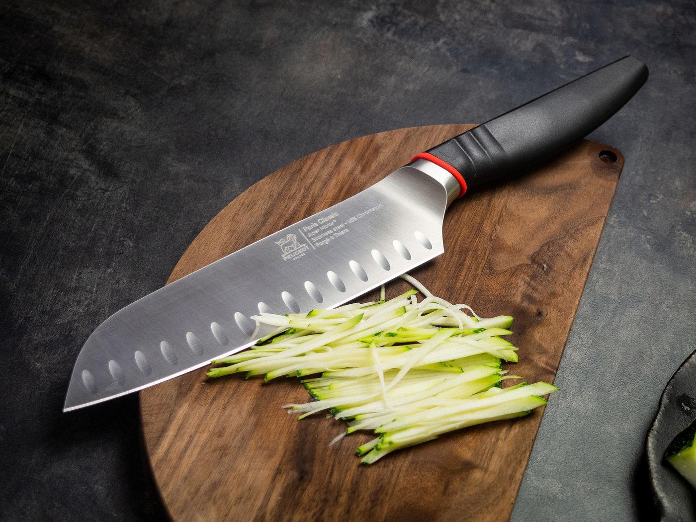 части ножа схема