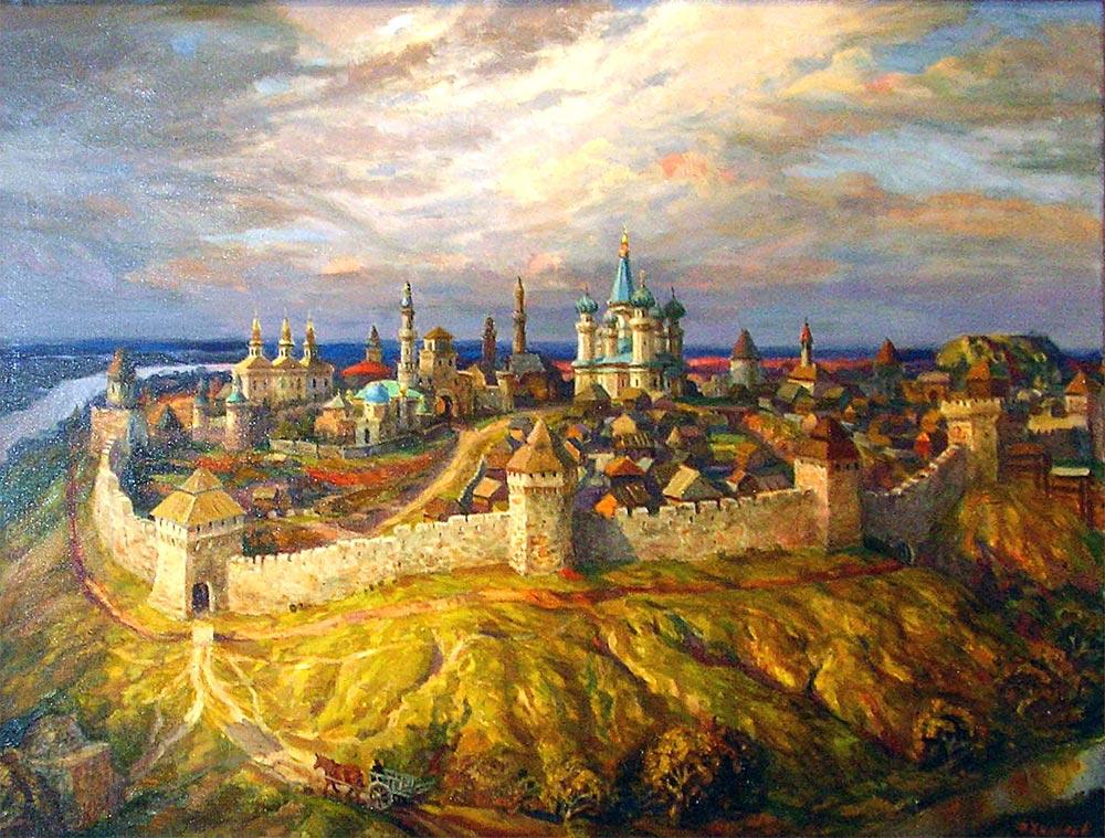 взятие казани 1552