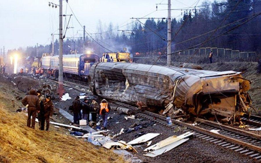 крушения поездов катастрофы на транспорте