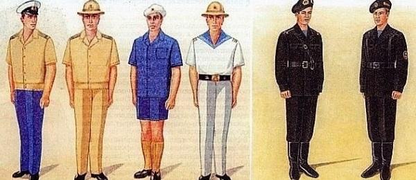 зимняя форма одежды военнослужащих