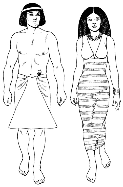 как одевались египтяне в древнем египте