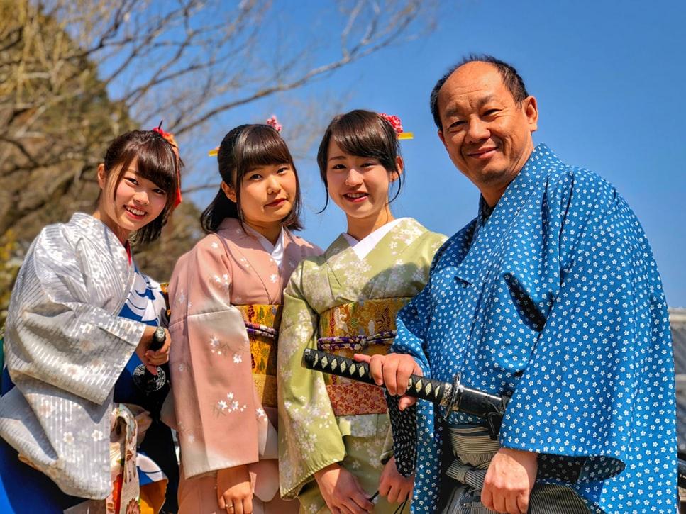 кимоно женское японское