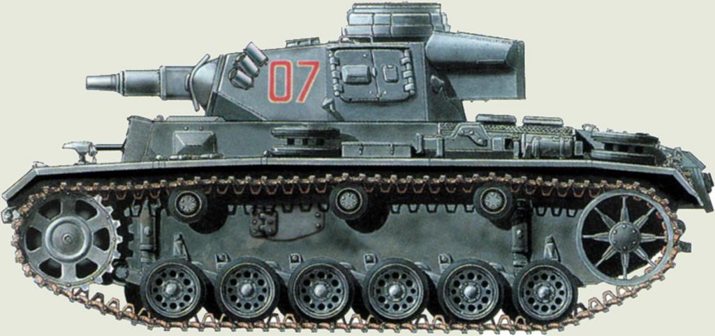 немецкий танк т3