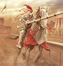 военные состязания рыцарей в силе и ловкости