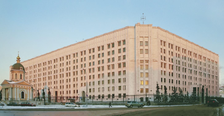 здание минобороны