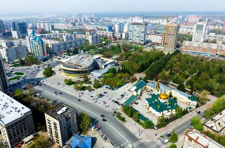 юг сибири города