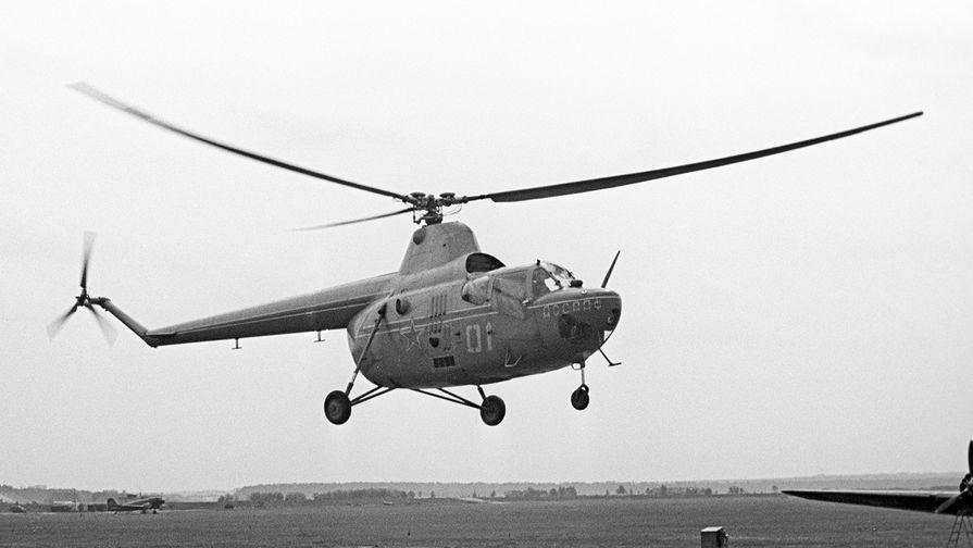 когда появился первый вертолет