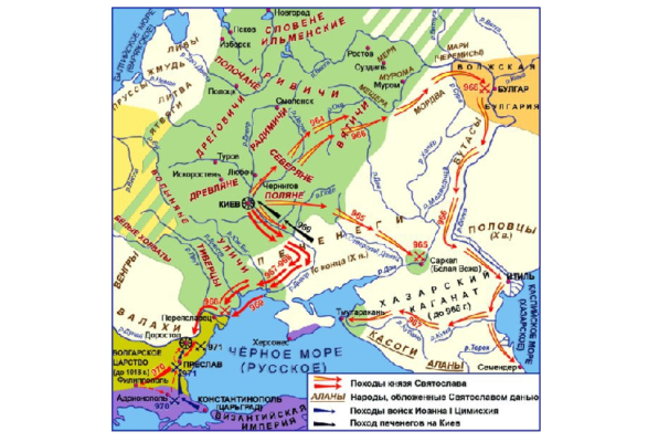 поход святослава в болгарию