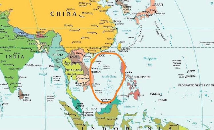 южно китайское