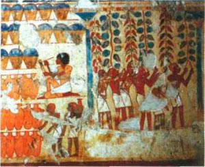 древнеегипетский воин