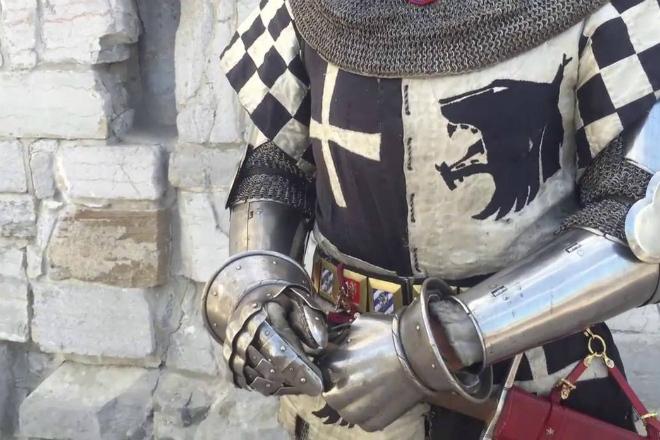 картинка рыцаря в доспехах