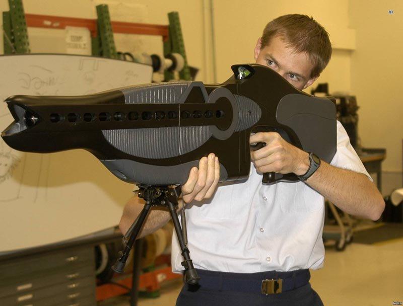 самое необычное оружие в мире