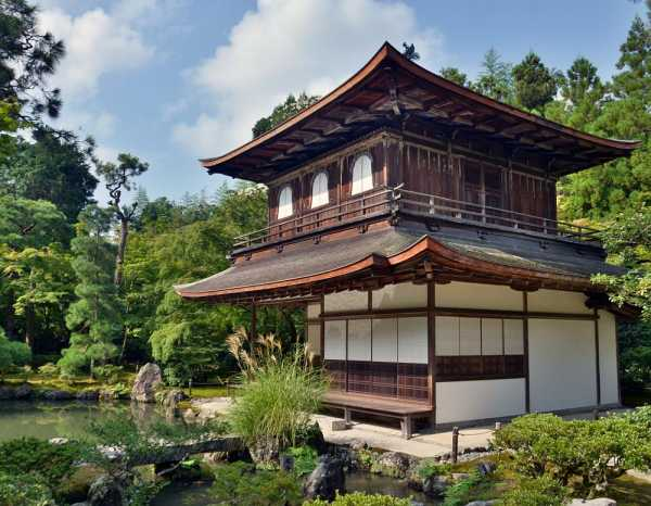 традиционный японский дом