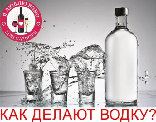 когда изобрели водку