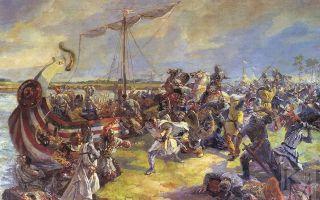 вторжение крестоносцев на русь невская битва