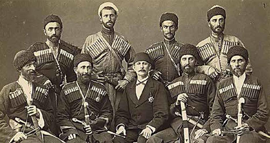 черкески девушки
