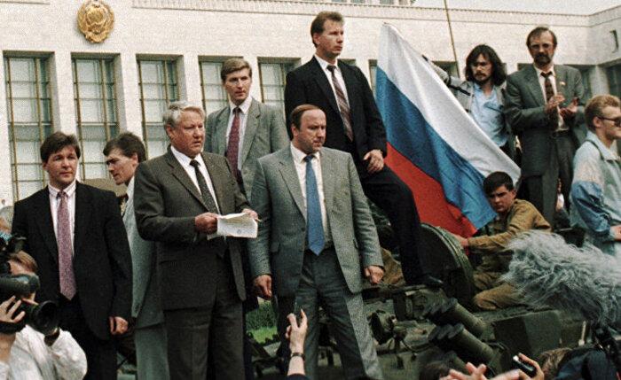 путч 1991 года основные события и последствия