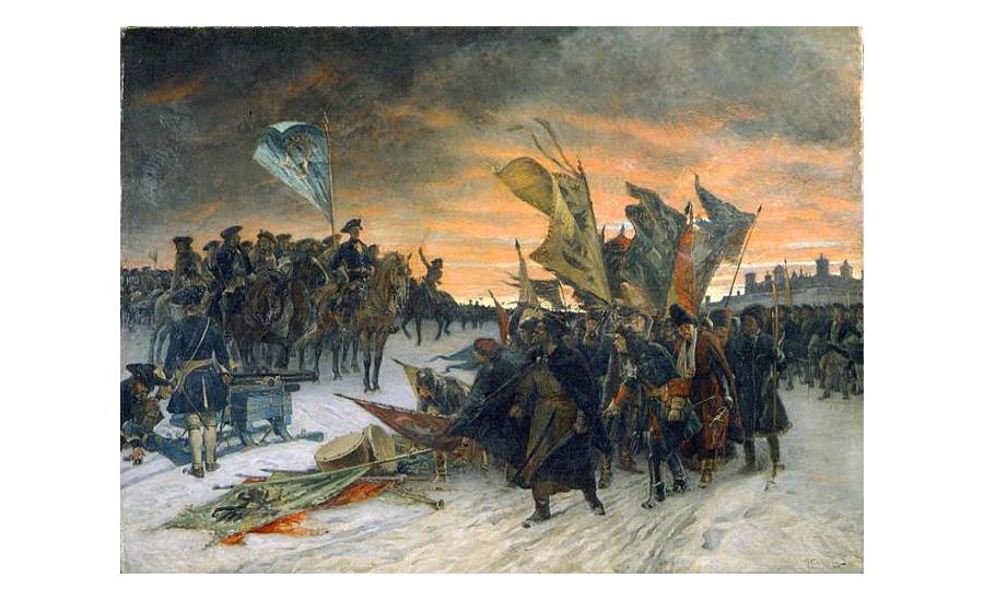 поражение русских войск под нарвой дата