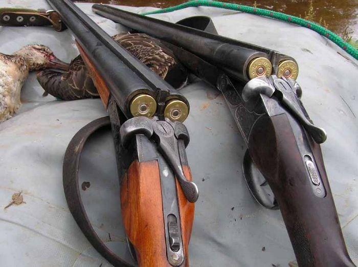 охотничье ружье 16 калибра