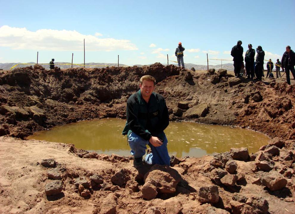 самый большой метеорит в мире