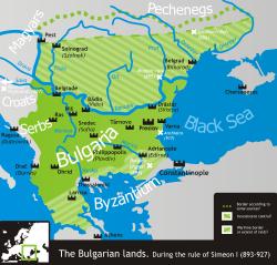 образование болгарского государства