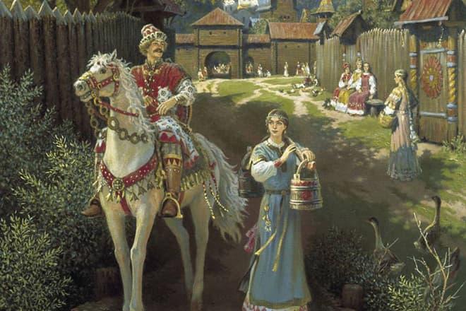 алеша попович русский богатырь