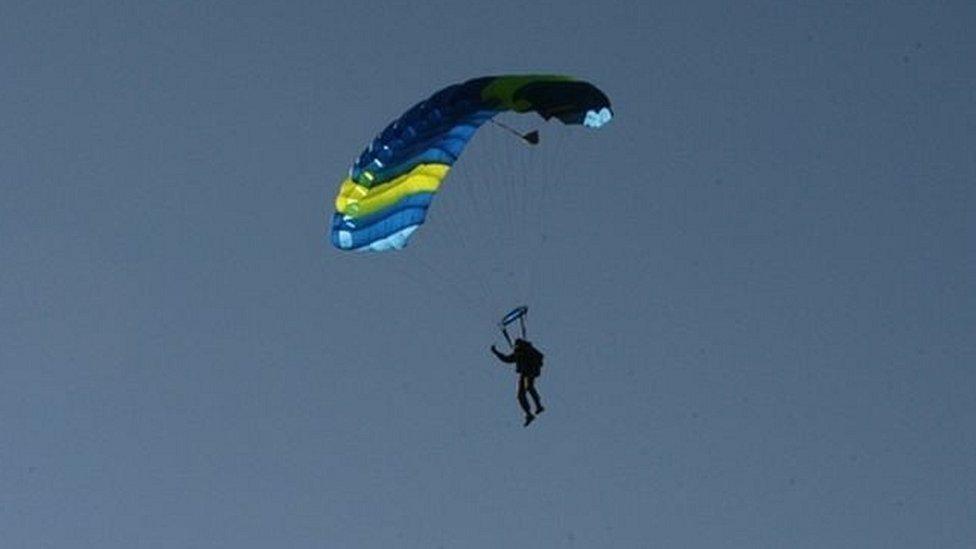 устройство парашюта