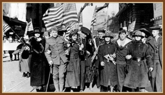 когда сша вступили в первую мировую войну