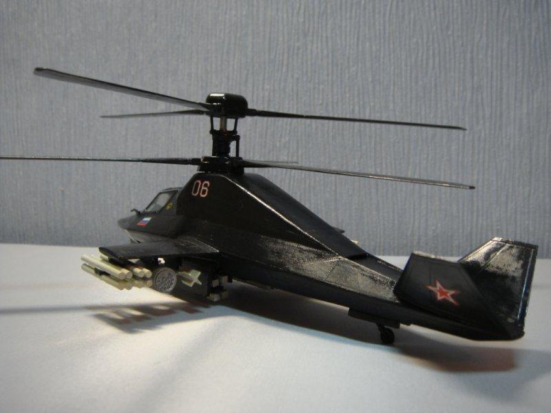 вертолет ка 58 черный призрак