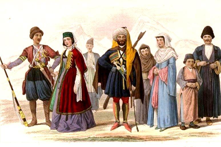 народности кавказа