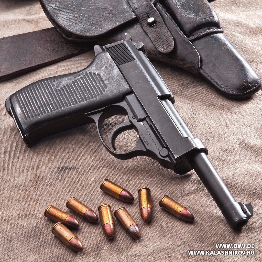 вальтер пистолет фото