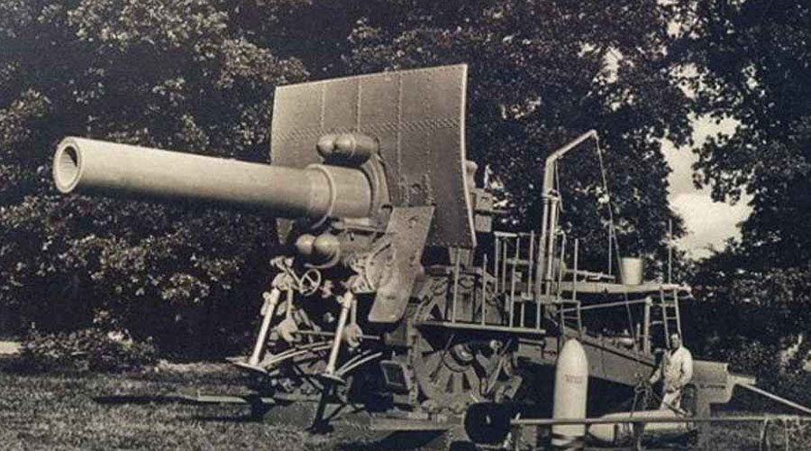 большая берта орудие