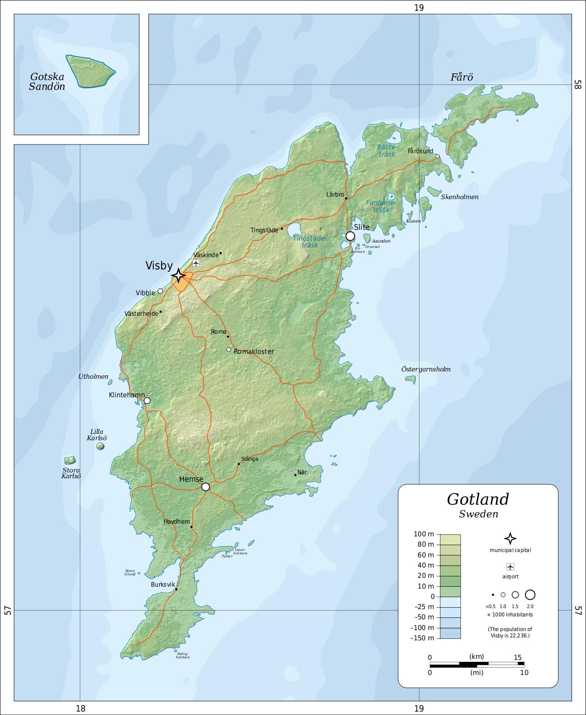 готланд остров в балтийском море