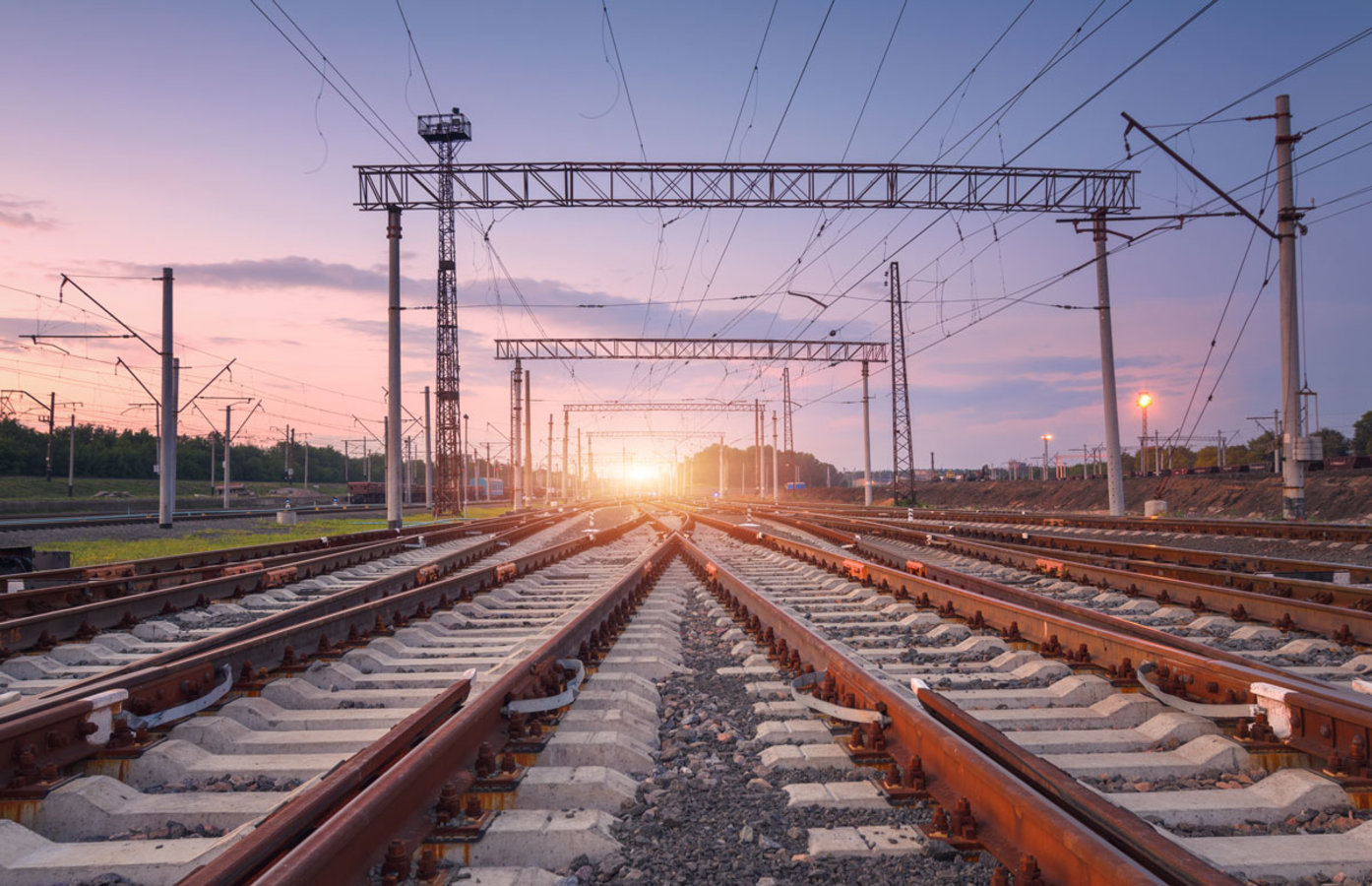 железнодорожная колея в разных странах