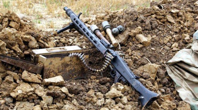 мг 34 пулемет характеристики