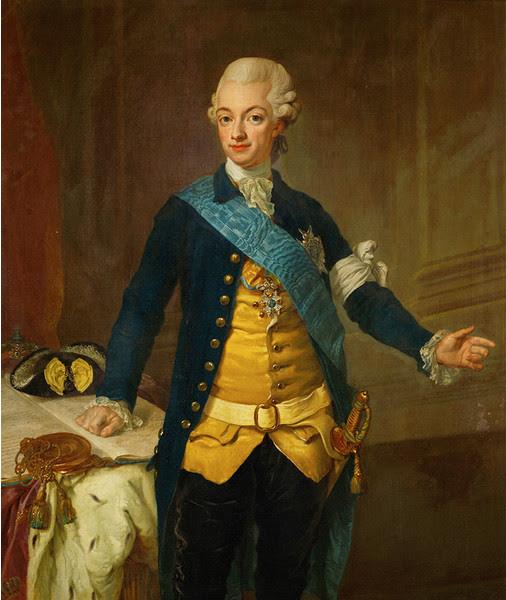 шведский король густав 3