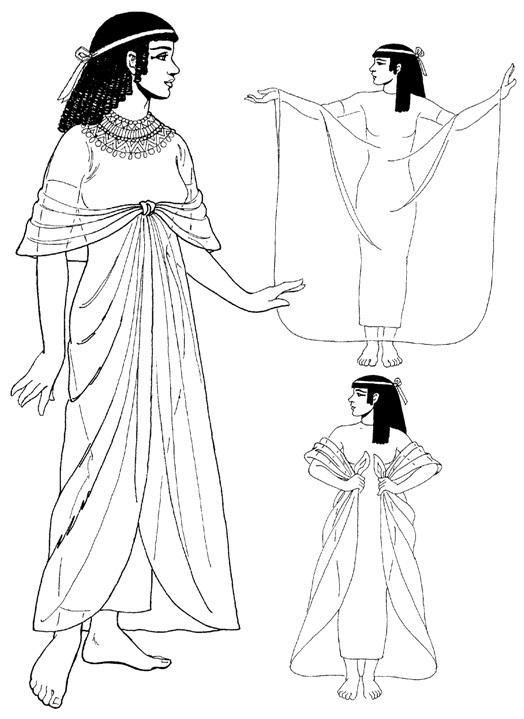 что одевали земледельцы в древнем египте