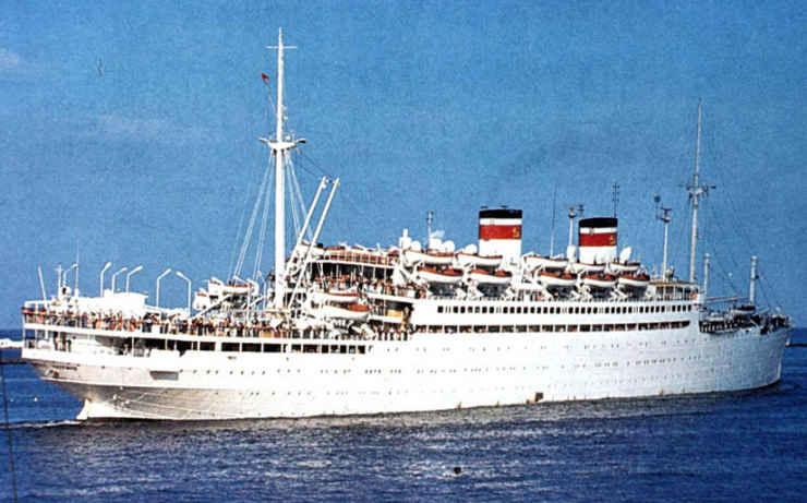 крушение адмирала нахимова 1986