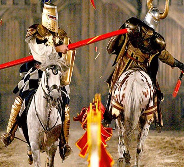 турнир рыцарей в средневековье