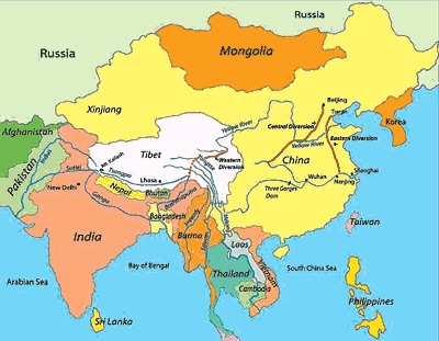 тибет где находится