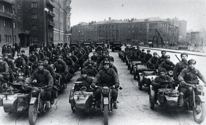 мотоциклы второй мировой